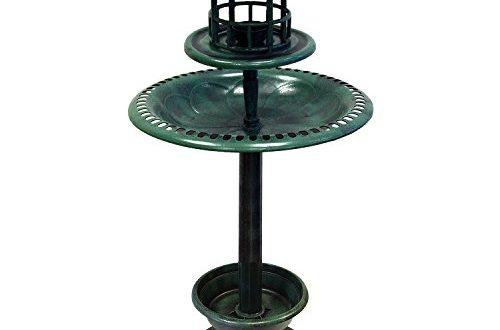 110cm Outdoor Vogel Brunnen Traenke hotel solar licht LED ArtNr 500x330 - 110cm Outdoor Vogel Brunnen Tränke hotel solar licht LED ArtNr. 29177