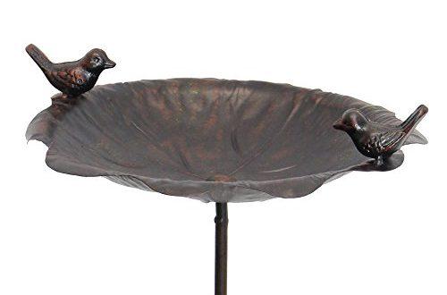 FRANK FLECHTWAREN Vogeltraenke Rostoptik 500x330 - FRANK FLECHTWAREN Vogeltränke Rostoptik