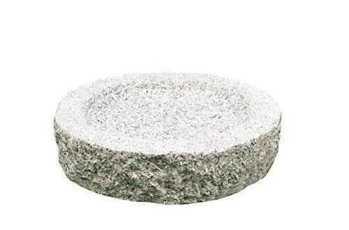 Gebrüder Lomprich Vogelbad aus Granit (Ohne Vögele)